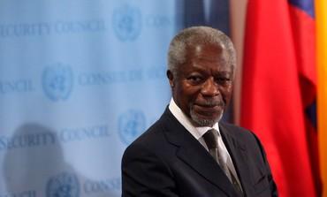 UN-Arab League special envoy Kofi Annan