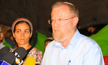 Beit El Council head Moshe Rosenbaum