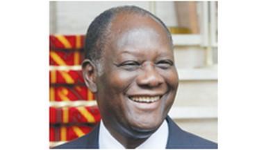 Cote d'Ivoire President Alassane Ouattara