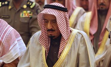 Saudi Prince Salman in Riyadh