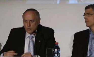 Malcom Hoenlein at presidential conference panel