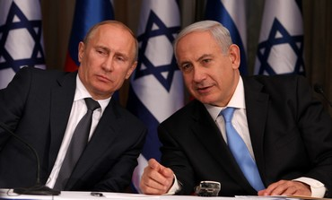 PM Netanyahu with Russian President Putin