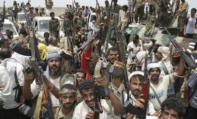 Tribesman in Yemen celebrate anti-terror operation
