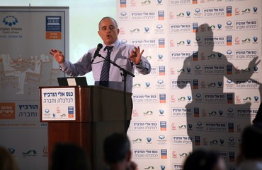 Steinitz speaks at Caesarea conference
