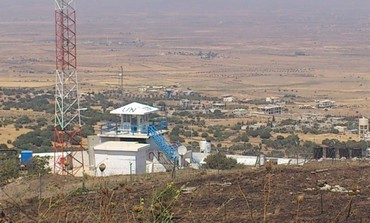 UN post on Israel-Syria border