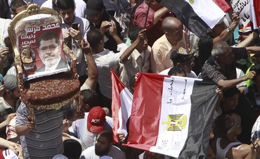 Mursi supporters gather at Tahrir Sqaure, Cairo