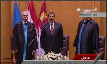 Mohamed Mursi sworn in as Egypt's president