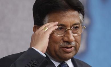 Former Pakistani President Pervez Musharaf