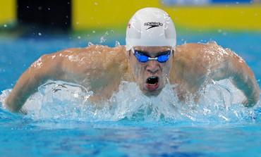 Olympic swimmer Gal Nevo