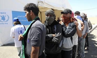 Syrian refugees in Jordan's Al Ramtha