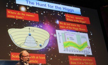Scientists explain search for Higgs boson particle