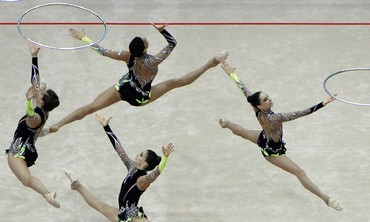ISRAEL'S RHYTHMIC GYMNASTICS TEAM