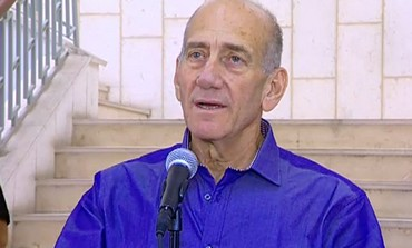 Ehud Olmert speaks following verdict