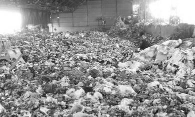 Landfill in Tel Aviv