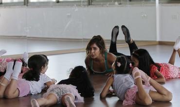 Shyrine Ziade, owner of the Ramallah ballet center