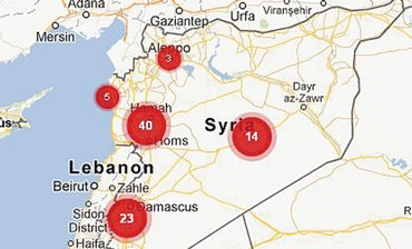 Mapping rapes in Syria