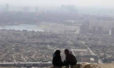 Smog settles in Egypt