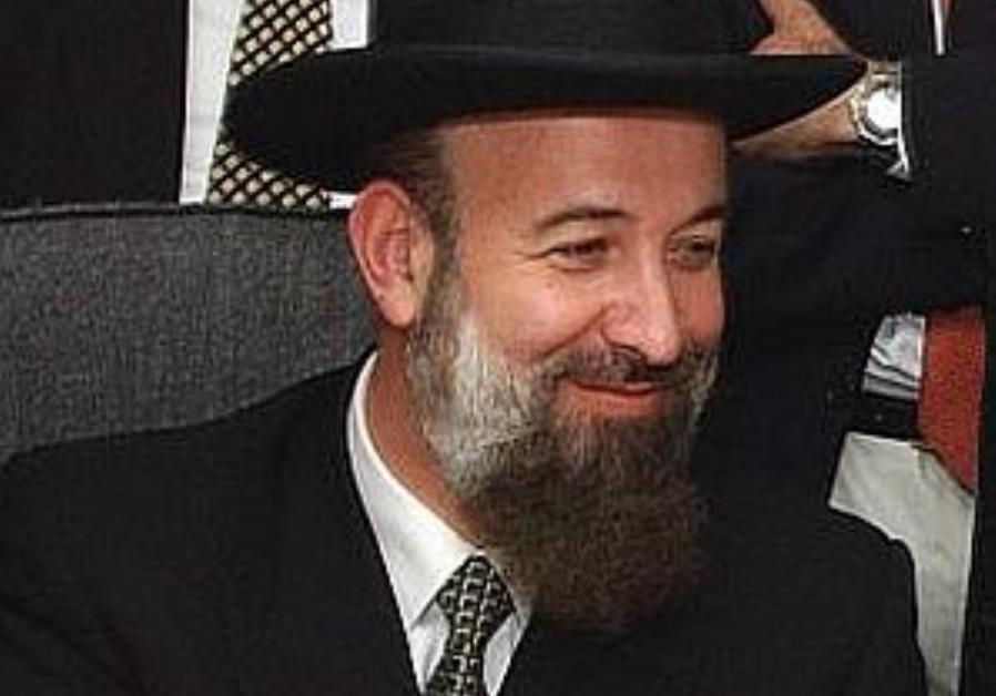 Chief Rabbi: 'No mourning Gaza exit'