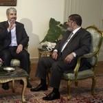 Mursi and Mashaal meet in Cairo