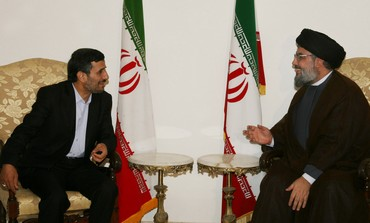 Iran's Ahmadinejad, Hezbollah's Nasrallah [file]