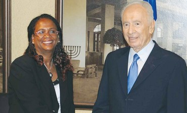BELYANESH ZEVADIA, ambassador to Ethiopia, Peres