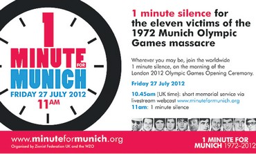 Campaign for silent moment for Munich victims