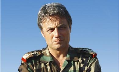 Syrian Brigadier-General Manaf Tlas.
