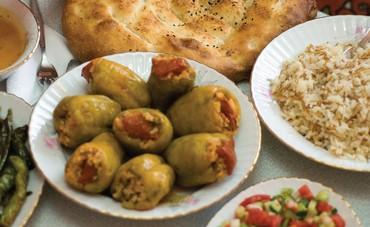 An iftar feast