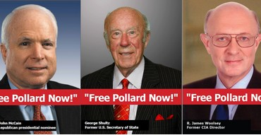 Free Pollard campaign posters
