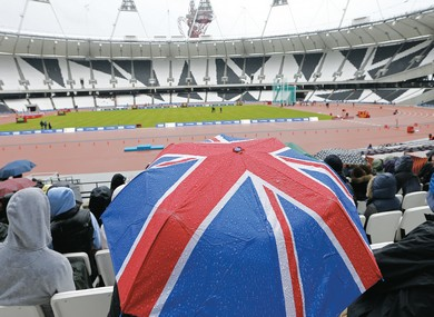 Athletics Championships at the Olympic Stadium