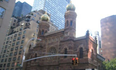 Central Synagogue on Lexington Ave