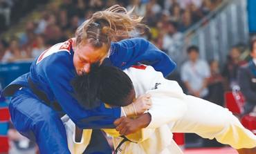 Israeli judoka Alice Schlesinger