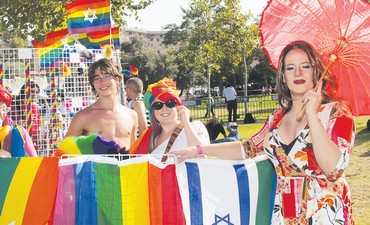 Jerusalem Gay Pride Parade 2010