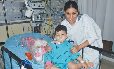 Young Transplant patient.