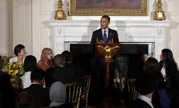 Obama speaks at Ramadan dinner