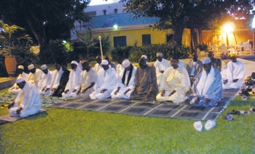 Imams gather at Israeli Embassy in Senegal