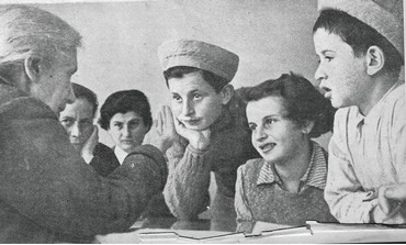 HENRIETTA SZOLD chats with Tehran Children
