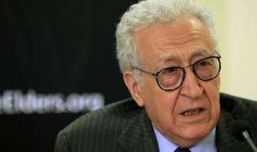 Veteran Algerian diplomat Lakhdar Brahimi