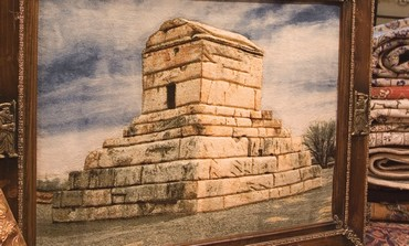 Picture of tomb of Cyrus the Great,