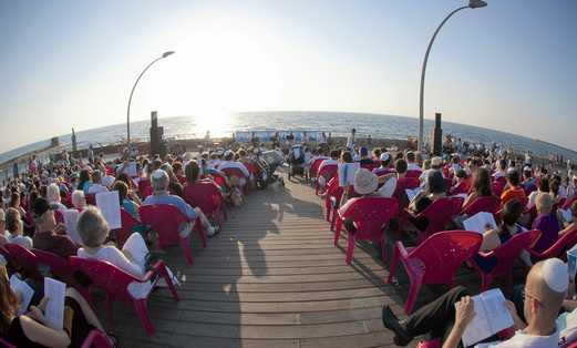 tel aviv port shabbat prayers 521