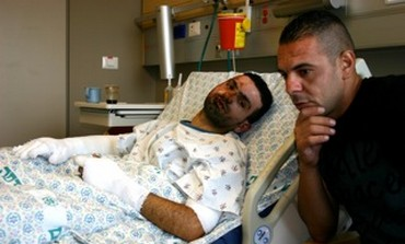 Hassan Jayada is recovering in the hospital