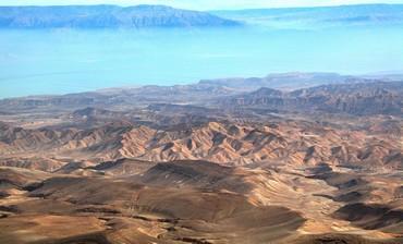 Judean wilderness and Dead Sea