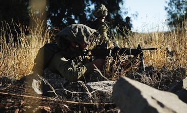 A GOLANI infantryman during an exercise