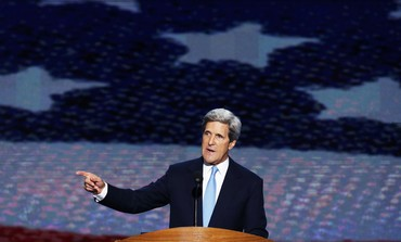 Sen. John Kerry at the Democratic Convention