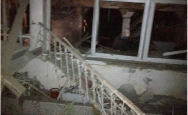 Netivot home damaged by Gazan Grad rocket