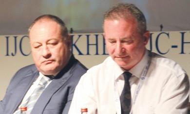 Vladimir Sloutsker and Steve Linde.