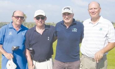 B DIVISION golfers at Ga'ash