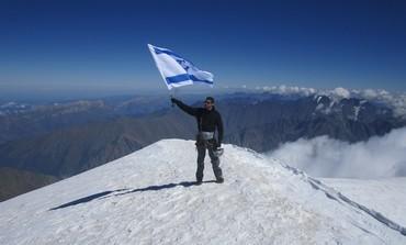 Mountain climber Nadav Ben Yehuda