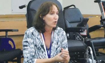 Occupational therapist Naomi Geffen