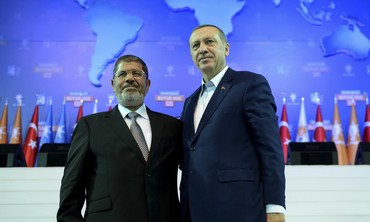 Leaders during AK Party congress in Ankara